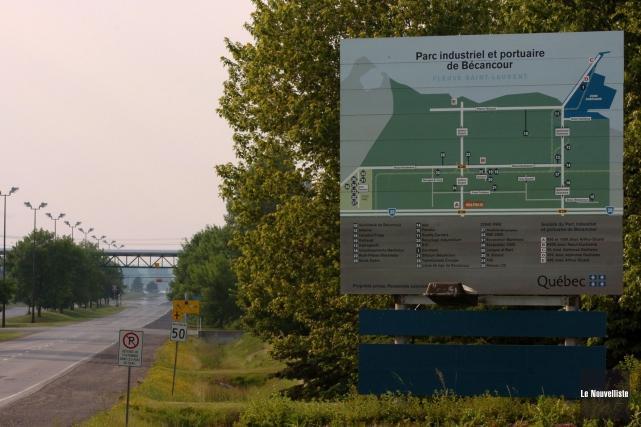 Le Parc industriel et portuaire de Bécancour.... (Photo: François Gervais Le Nouvelliste)