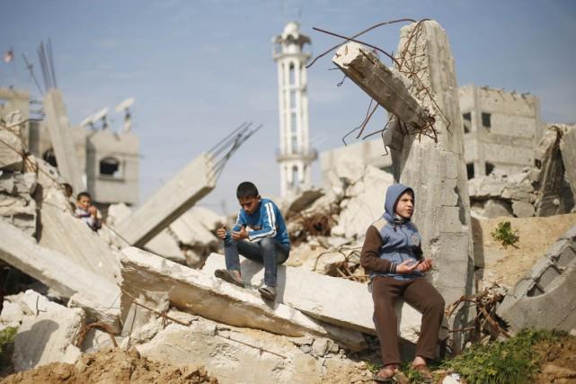 La guerre de juillet-août, qui a fait quelque... (PHOTO SUHAIB SALEM, ARCHIVES REUTERS)