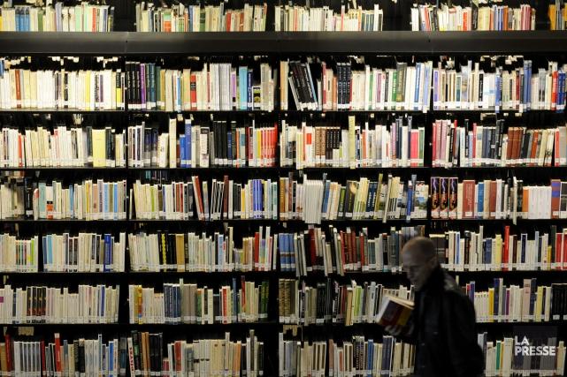 L'utilisation des services des bibliothèques publiques de la... (PHOTO ARCHIVES LA PRESSE)