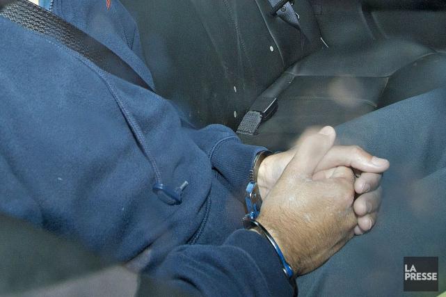 Les policiers de la SQ d'Arthabaska ont procédé à l'arrestation de Jean-Paul... (Archives La Presse)
