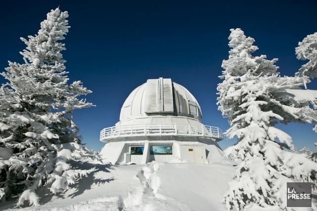 L'Observatoire du Mont-Mégantic... (Photothèque La Presse)