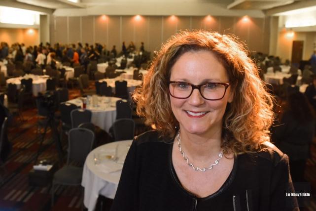 Nicole Poirier, directrice de la Maison Carpe Diem,... (Photo: François Gervais, Le Nouvelliste)