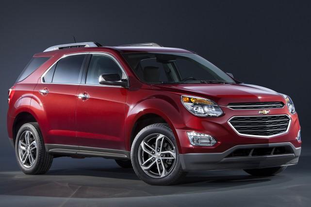 Le Chevrolet Equinox redessiné a été dévoilé jeudi... (PHOTO FOURNIE PAR GENERAL MOTORS)