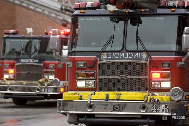 Le harcèlement et le sexisme à l'endroit des pompières à Montréal sont d'une... (PHOTO DAVID BOILY, ARCHIVES LA PRESSE)