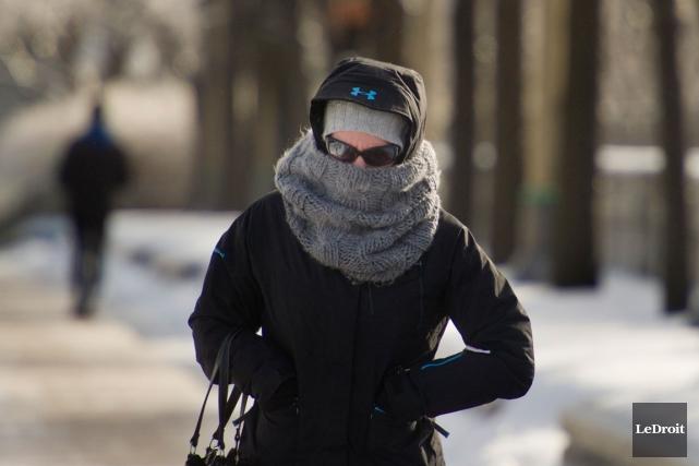Un vigoureux front froid a traversé l'Ontario et... (Patrick Woodbury, LeDroit)