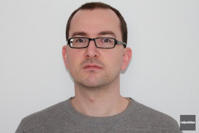 Sébastien Lévesque, professeur de philosophie au Cégep de... ((Archives Le Quotidien))