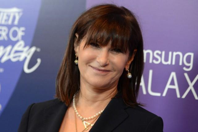 Au congrès, Amy Pascal a admis qu'à 56... (Photo Jordan Strauss/Invision, AP)