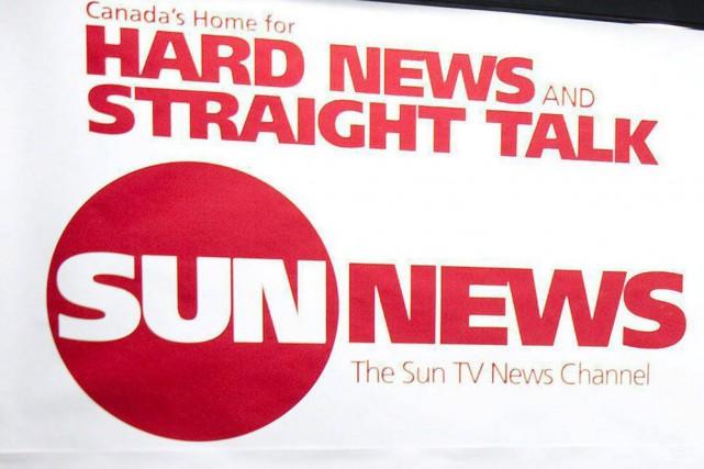 La chaîne câblée d'information continue Sun News, basée... (PHOTO ARCHIVES LA PRESSE CANADIENNE)