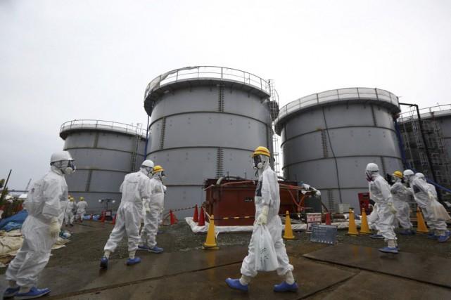 Quelque 7000 travailleurs de centaines d'entreprises sous-traitantes oeuvrent... (Photo Tomohiro Ohsumi, archives Reuters)