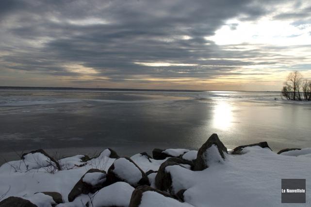 Le lac Saint-Pierre est désigné réserve de la... (Photo d'archives: Stéphane Lessard, Le Nouvelliste)