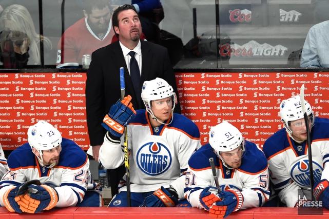 Les Oilers d'Edmonton affichent une meilleure mine depuis... (Photo Bernard Brault, La Presse)