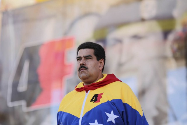La popularité de Nicolas Maduros'est effondrée à 20%... (PHOTO ARCHIVES REUTERS/PALAIS MIRAFLORES)