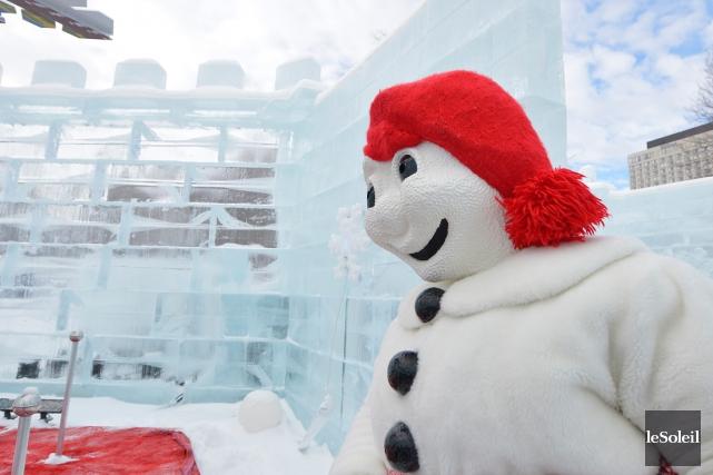 Le Carnaval de Québec s'est doté cette année d'une nouvelle application mobile:... (PHOTO YAN DOUBLET, LE SOLEIL)