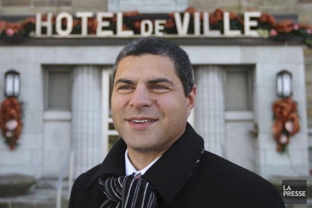 Le maire de Victoriaville Alain Rayes.... (PHOTO ARCHIVES LA PRESSE)