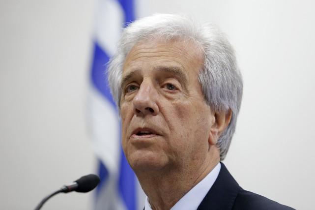Le président d'Uruguay, Tabaré Vazquez... (Photo Andres Stapff, Reuters)