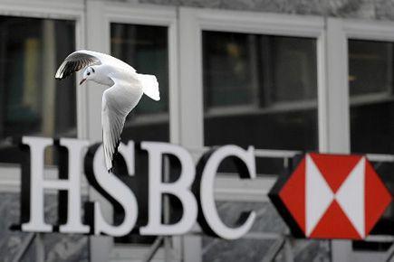 Le scandale qui ébranle HSBC a éclaté le... (Photo Fabrice Coffrini, AFP)