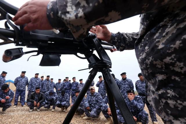Les djihadistes de l'EI ont attaqué vendredi une... (PHOTO SAFIN HAMED, ARCHIVES AFP)