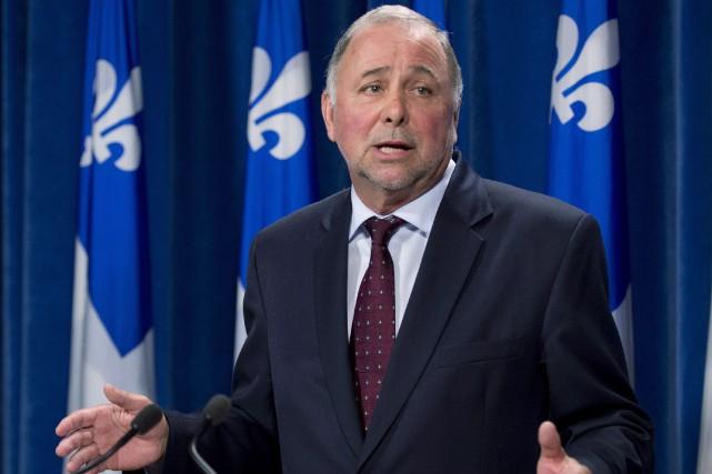 Le ministre de l'Agriculture, Pierre Paradis... (PHOTO ARCHIVES LA PRESSE CANADIENNE)
