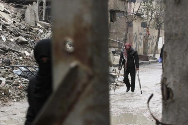 Ce gel des combats permettrait de livrer de... (Photo Mohammed Badra, REUTERS)
