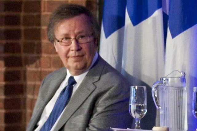 Le président du Parti québécois, Raymond Archambault, annonçait... (Photo La Presse Canadienne)