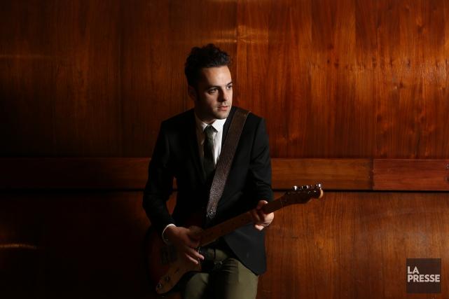 Dumas présente au Granada les chansons de son... (Archives, La Presse)