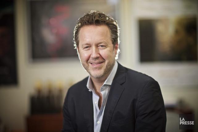 En succédant à Bryan Gliserman comme PDG d'eOne... (Photo André Pichette, La Presse)