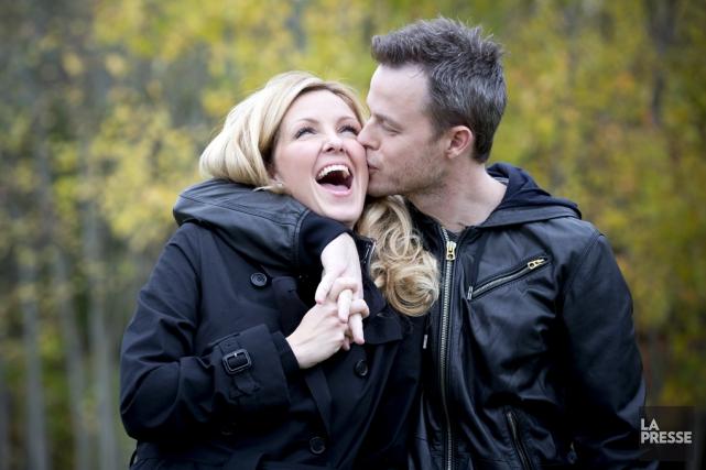 Le couple le plus populaire du Québec a... (photo archives La Presse)