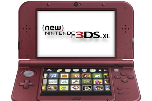 La console Nintendo 3DS XL comporte de nouvelles... (Image fournie par Nintendo)