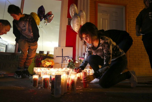 La mort du sans domicile fixe mexicain est... (Photo Alan Berner/The Seattle Times, AP)