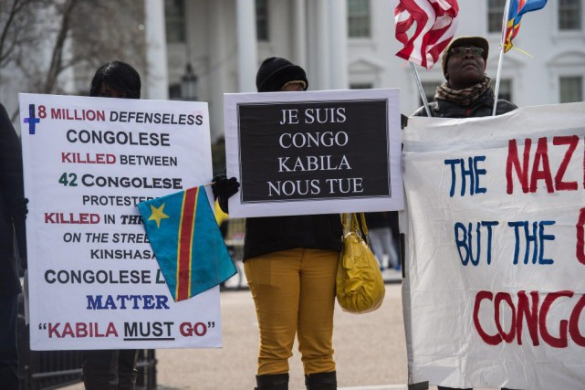 L'opposition soupçonne M. Kabila, âgé de 43 ans... (PHOTO NICHOLAS KAMM, AFP)