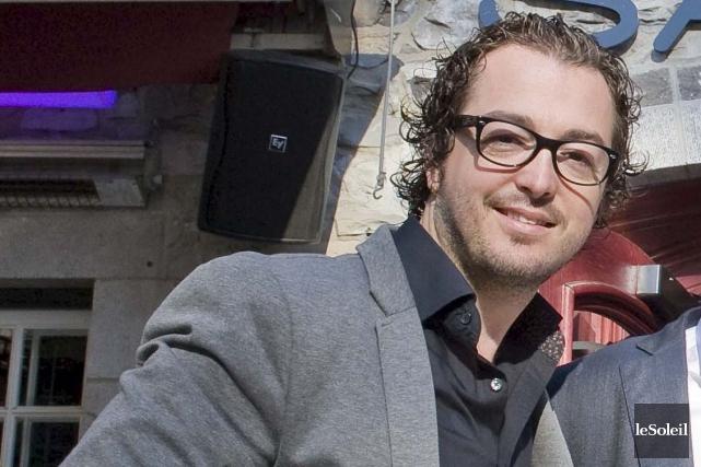 «Ça va être un restaurant typiquement québécois», dit... (Le Soleil, Steve Deschênes)