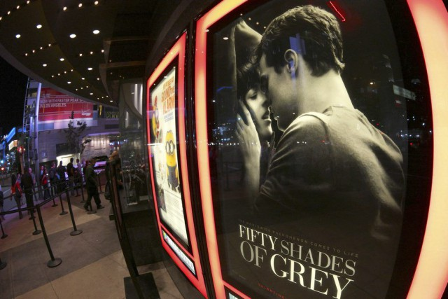 Fifty Shades of Grey a battu cette semaine des... (PHOTO JONATHAN ALCORN, REUTERS)