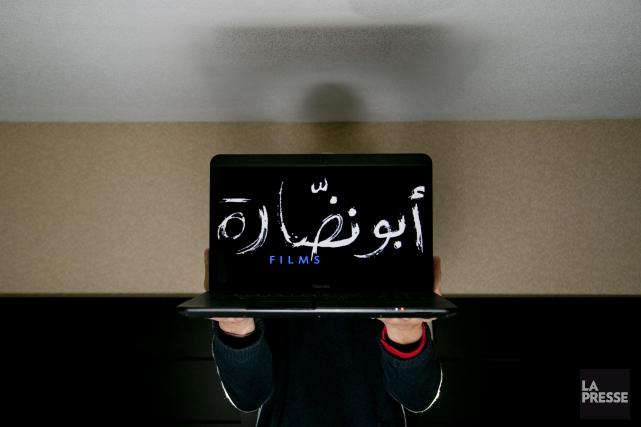 Charif Kiwan, porte-parole du collectif de cinéastes syriens.... (PHOTO DAVID BOILY, LA PRESSE)