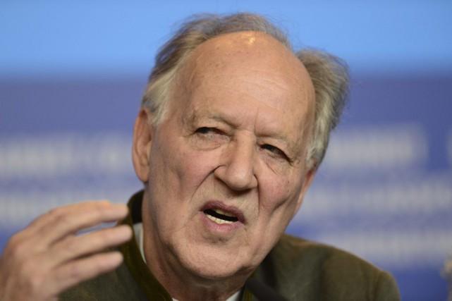 Le cinéaste allemandWerner Herzog... (PHOTO JOHN MACDOUGALL, AFP)