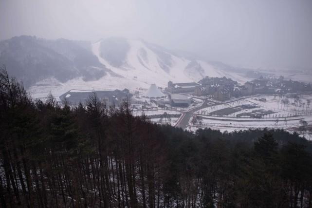 Les épreuves de ski acrobatique des Jeux de... (Photo fournie par le comité organisateur)