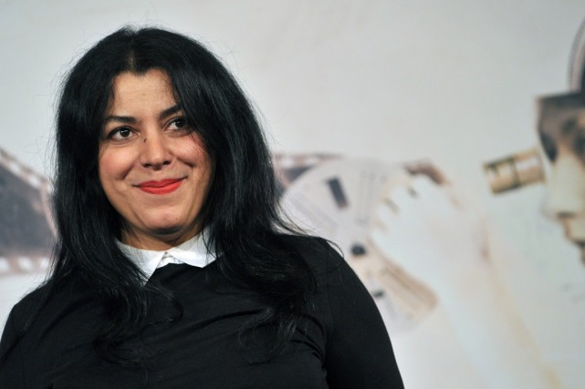 Marjane Satrapi... (PHOTO TIZIANA FABI, ARCHIVES AFP)