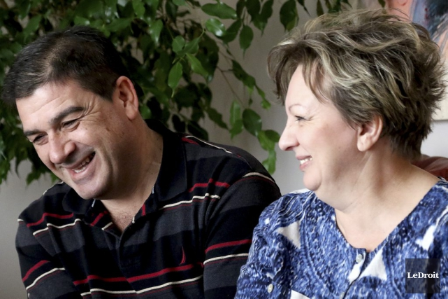 Trente ans après leur mariage à Sarajevo, l'amour... (Patrick Woodbury, LeDroit)