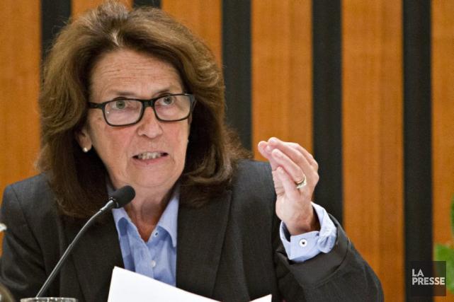 La mairesse de l'arrondissement d'Outremont, Marie Cinq-Mars.... (PHOTO OLIVIER JEAN, ARCHIVES LA PRESSE)