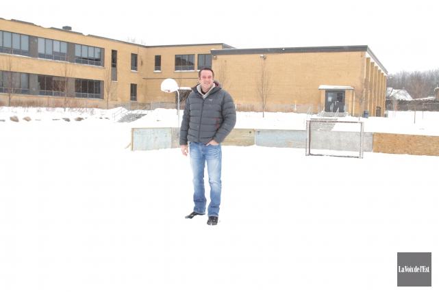 Les quatre patinoires qui ont été délaissées par la Ville de Granby plus tôt... (Photo Catherine Trudeau, La Voix de l'Est)