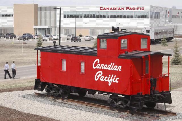 Un débrayage des employés du Canadien Pacifiquesera déclenché... (PHOTO ARCHIVES LA PRESSE CANADIENNE)