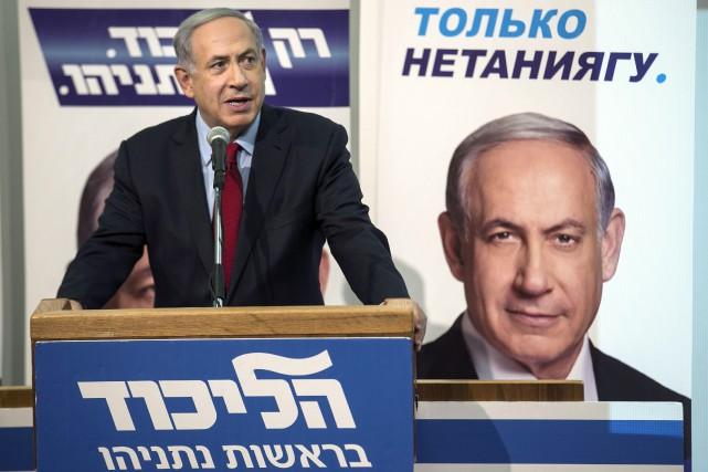Le président israélien Benyamin Nétanyahou... (PHOTO BAZ RATNER, REUTERS)
