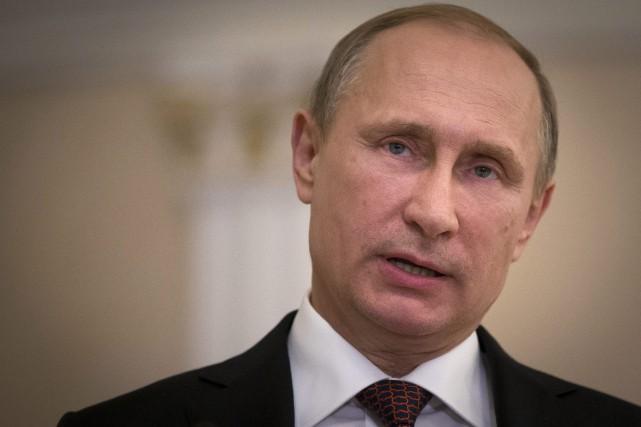 Le président russe Vladimir Poutine a un véritable... (Photo Alexander Zemlianichenko, AP)