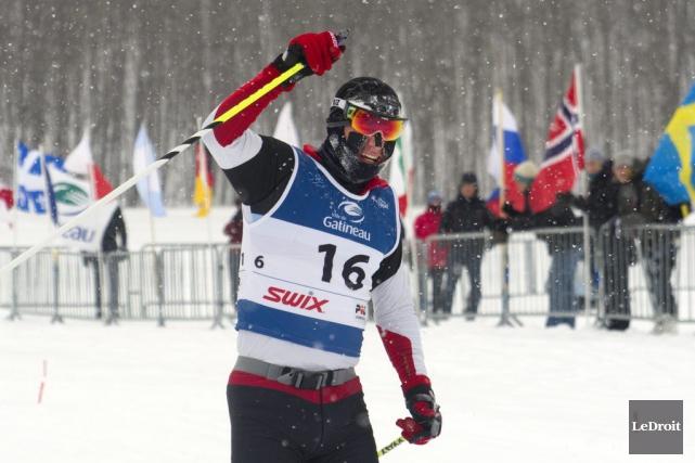Yan Murray, de Canmore (Alberta), a remporté l'épreuve... (Martin Roy, LeDroit)