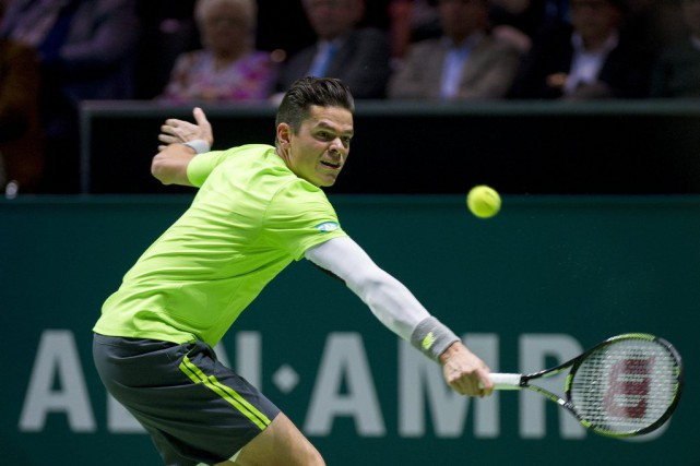 Milos Raonic... (PHOTO PATRICK POST, AP)