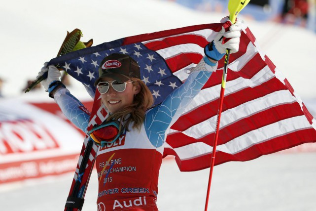 Mikaela Shiffrin... (Photo John Locher, AP)