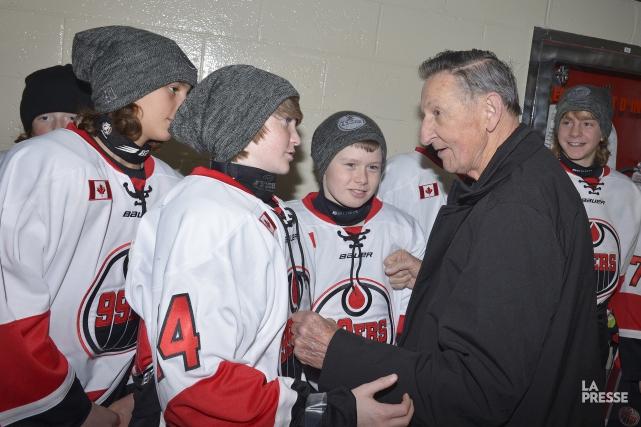 Malgré plusieurs problèmes de santé, Walter Gretzky n'a... (Photo La Presse, Jean-Marie Villeneuve)