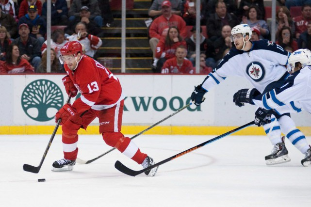Les Jets de Winnipeg ont défait les Red... (Photo Tim Fuller-USA TODAY Sports)