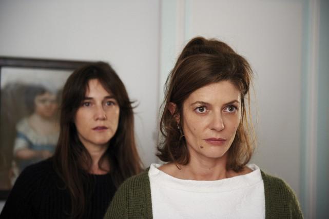 Le soeurs Sylvie (Charlotte Gainsbourg) et Sophie (Chiara... (Photo fournie par Métropole Films)
