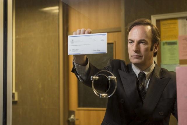 Saul Goodman, l'avocat véreux et excentrique de Breaking... (Photo fournie par AMC)