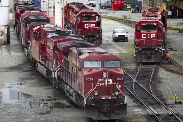 Aucune entente n'a été conclue entre les cheminaux et les conducteurs du... (Photo La Presse Canadienne, Darryl Dyck)